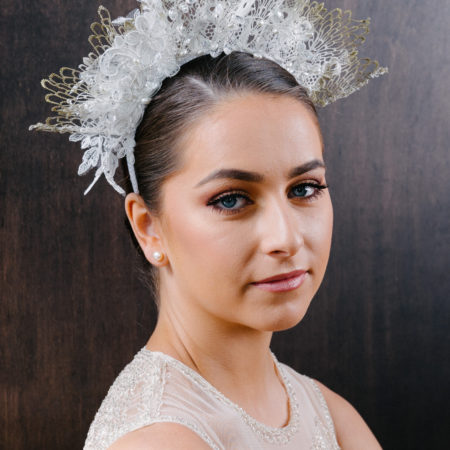 Bridal Crown in Lace