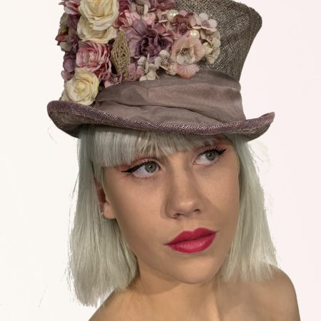 Mauve Top Hat Flowers